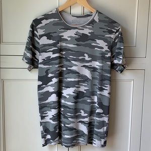 Barneys New York Men's Camouflage Cotton T-shirt